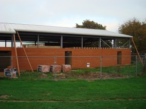 November 2011 - brickwork continues