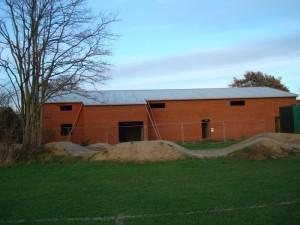7 December 2011 - exterior brickwork  complete